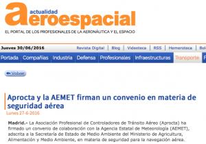 Actualidad Aeroespacial