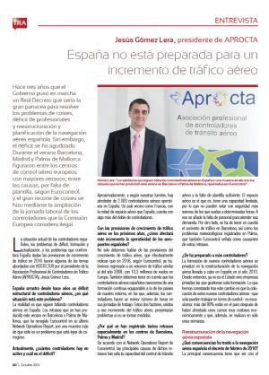 Hosteltur entrevista a Jesús Gómez Lera, presidente de Aprocta