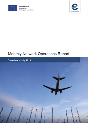 Eurocontrol- Network Operations Report - Julio 2014